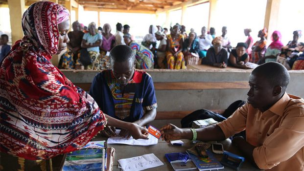 Recieving cash transfer payments